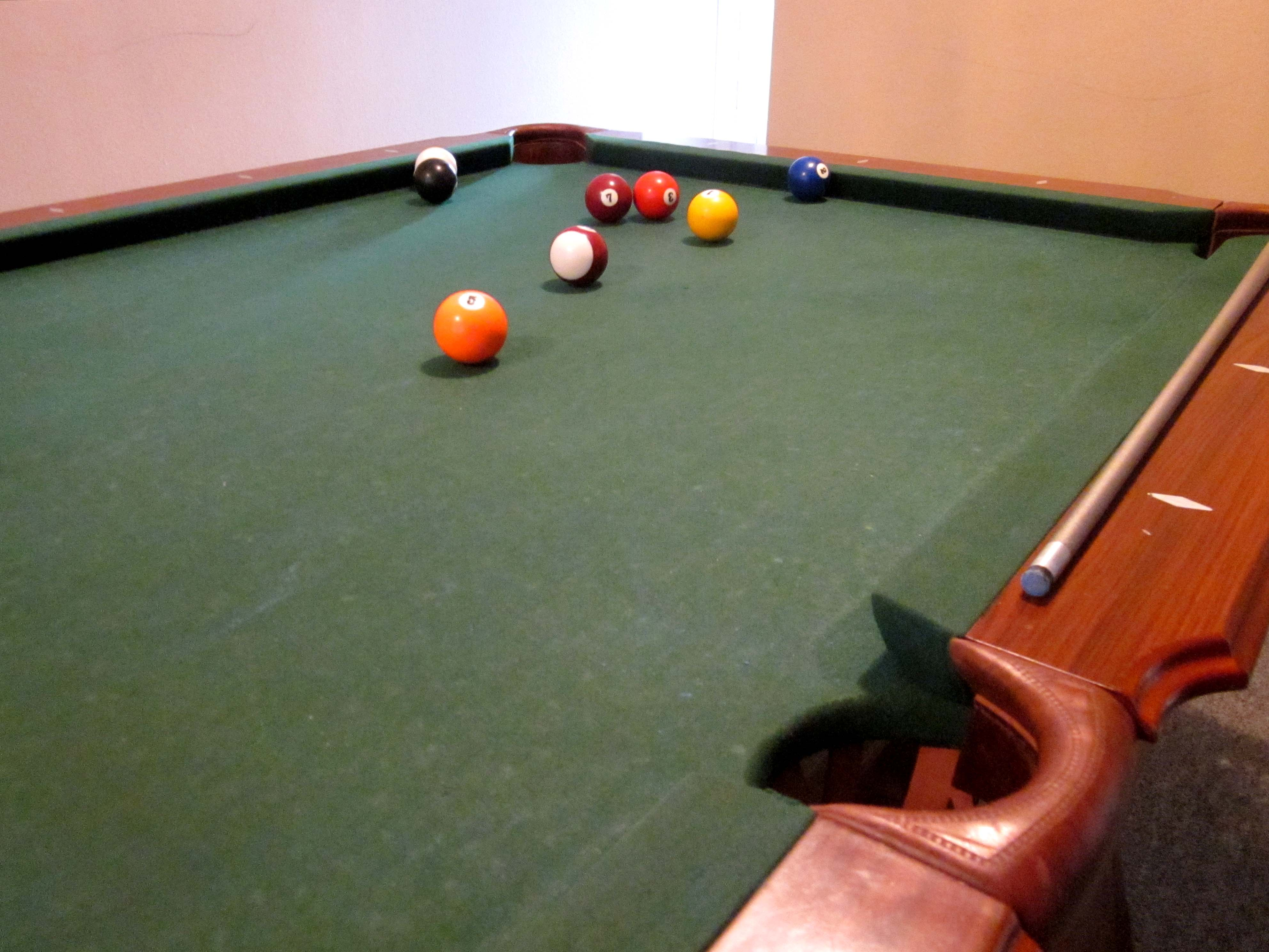 Apartment Pool Table